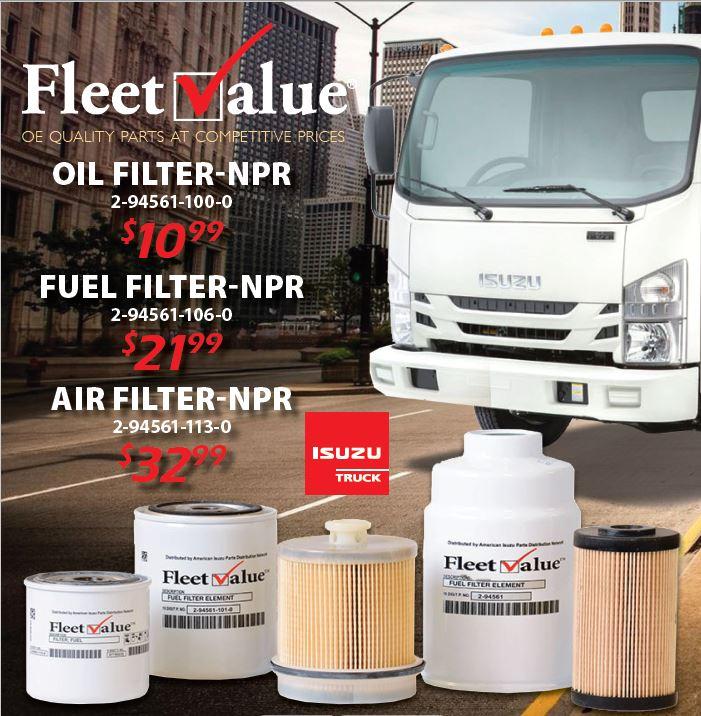 FleetValue Filter ...